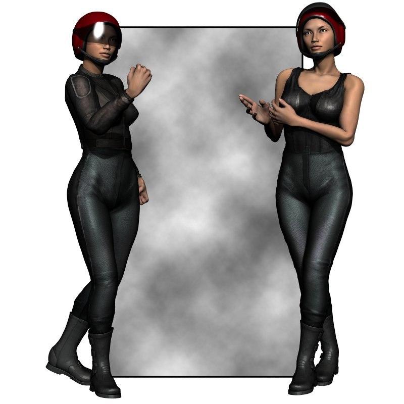 pz3 clothes g2 female poser