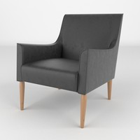 3ds max chair realistic