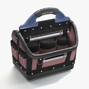 3d tool bag model