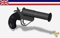 british flare gun pistol lwo