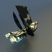 blender gunship