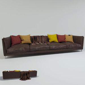 free max mode leather sofa