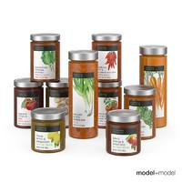 3ds max sauce jars