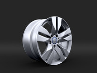 Mercedes Rim R52 17 inches
