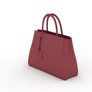 3d 2jours bag model