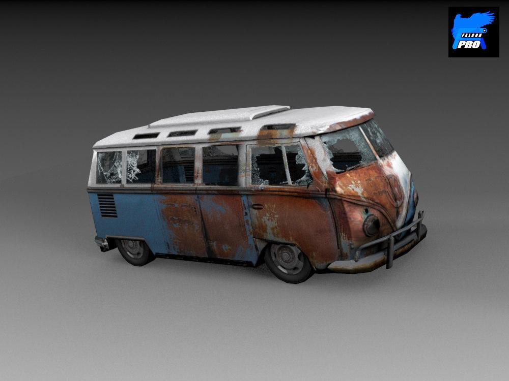 maya wreack wreak car bus