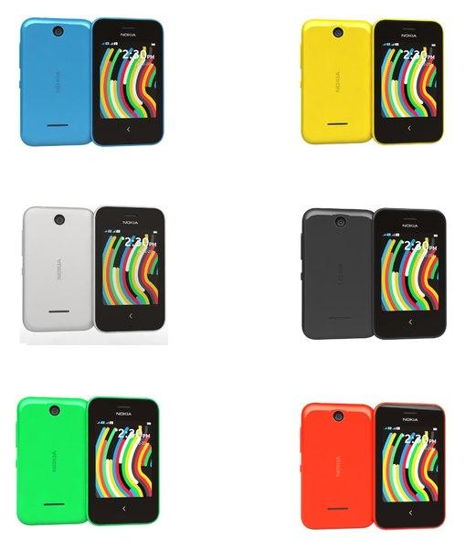 3dsmax nokia asha 230 colors