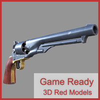 3ds max colt army 1860