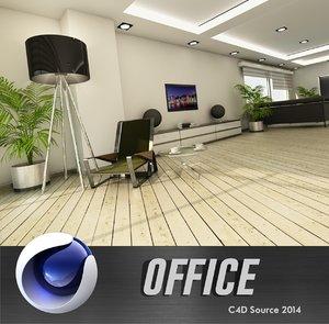 3d model office design