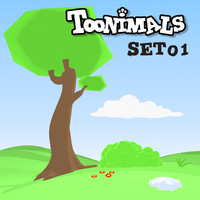 TOONIMALS BACKGROUND SET 01