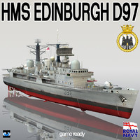 HMS Edinburgh D97 Destroyer Type 42