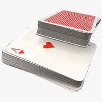 3d deck playing cards