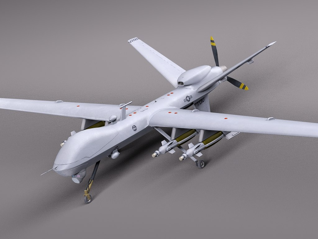 3ds reaper mq-9 drone