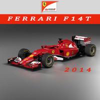 3d model of f14t ferrari