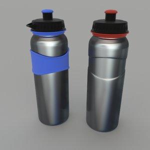 3d model drink bottles