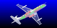 Nimrod Maritime Patrol Aircraft (Rev 2) Solid Assembly Model