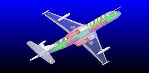 hawker maritime patrol aircraft 3ds
