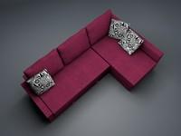 3d model corner sofa ikea