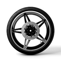 cinema4d motorcycle tire