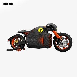 concept bike 3d max