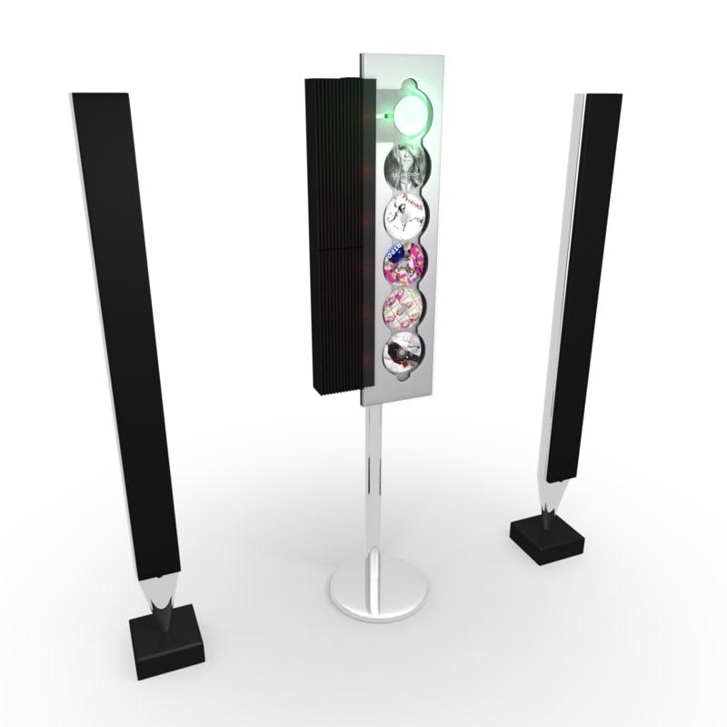 beosound 9000 player beolab 3d model. Black Bedroom Furniture Sets. Home Design Ideas