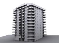 apartment scanline 3d max