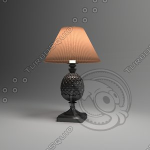 3d old lamp