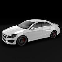 3d 2014 mercedes benz sedan model