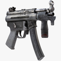 MP-5 Machine Gun