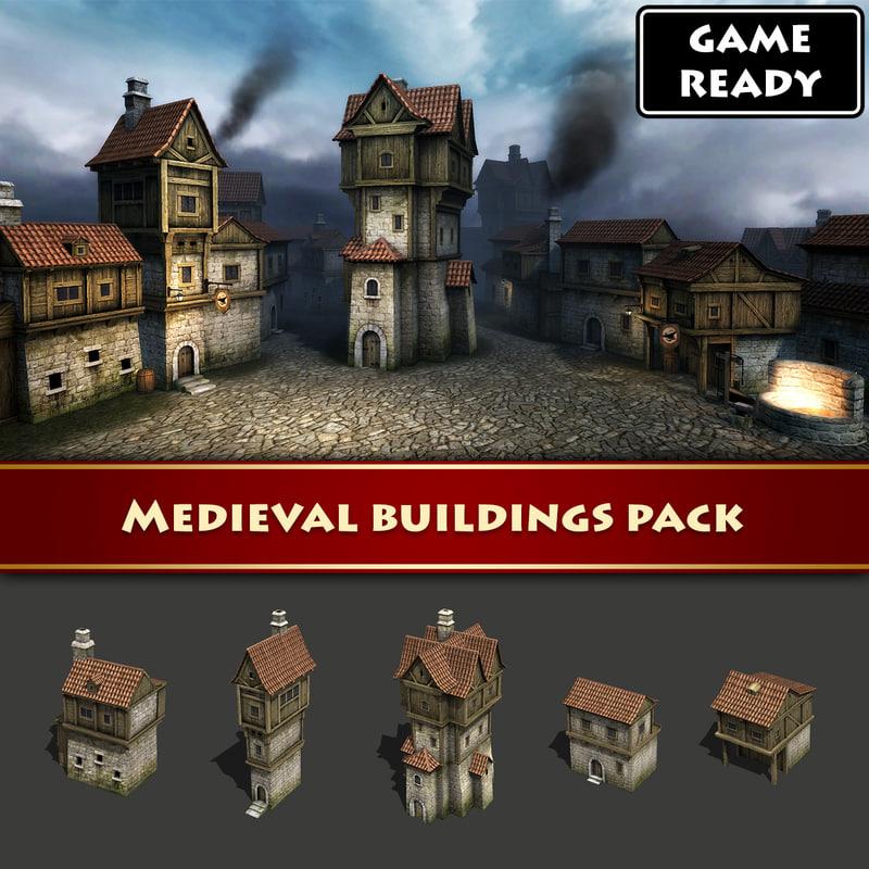 maya medieval buildings