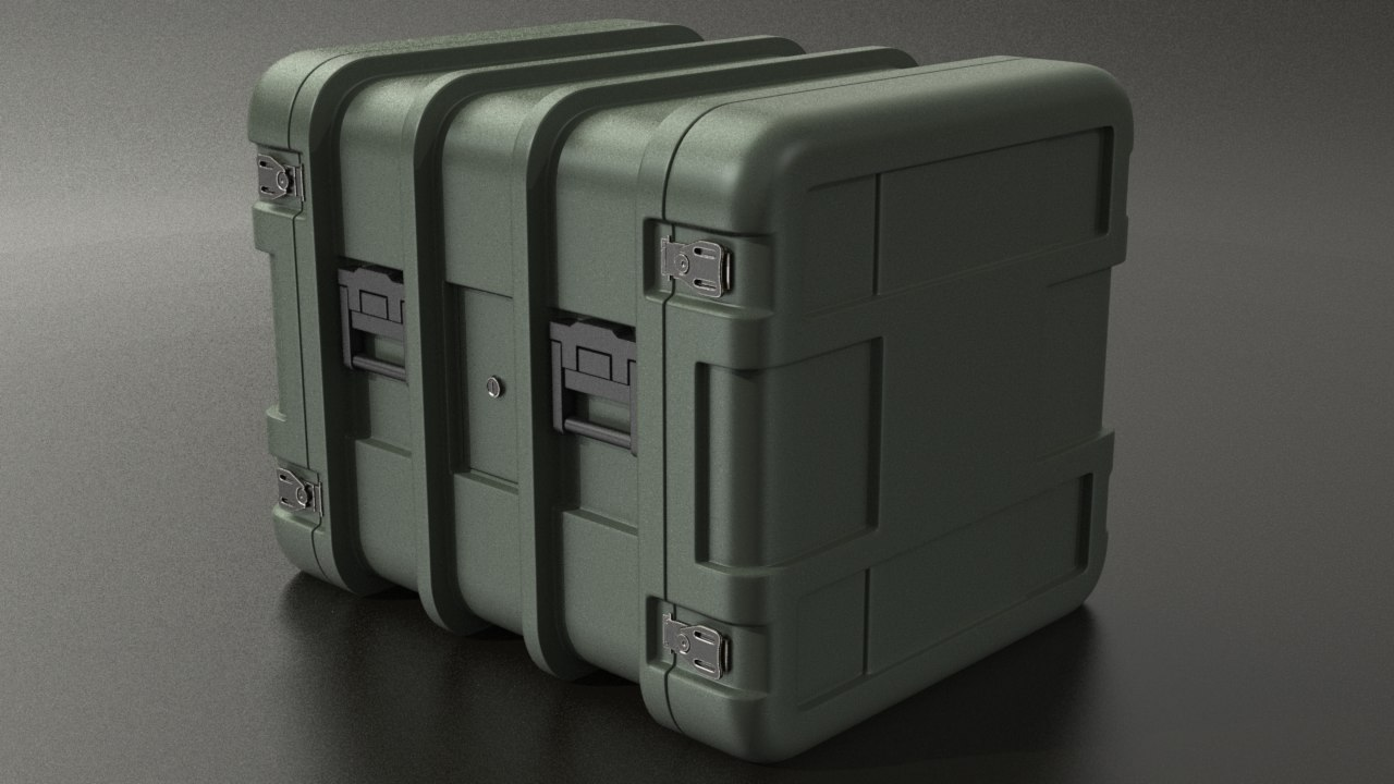 3ds military crate