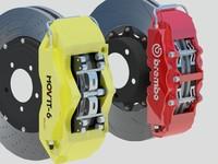 3dsmax performance brembo brakes