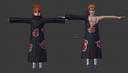 3d animation naruto model