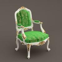 armchair jumbo 3d max