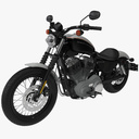 XL-1200 Nightster 3D models