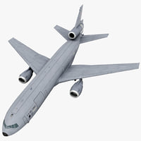 3d model mcdonnell douglas kc-10 rigged