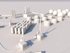 repsol refinery 3ds