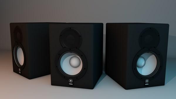 3d model speaker yamaha