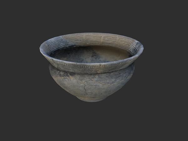 ceramic pot 3d model