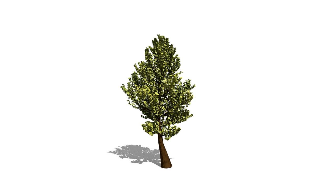 free obj model tree