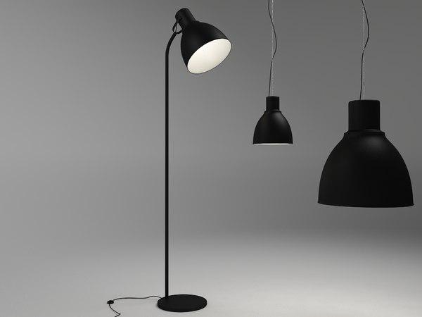 3d ektar lamps model