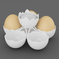 Tealight Five Egg Holder