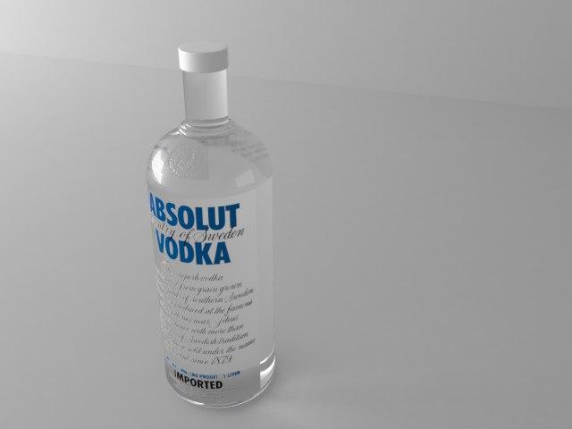 max absolut bottle