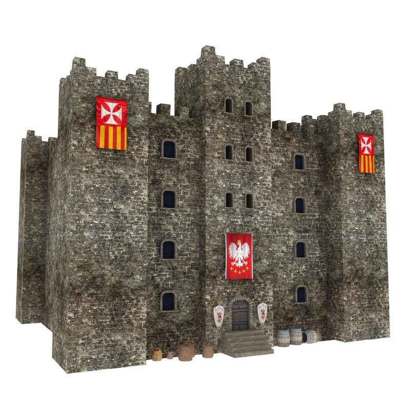 medieval castle tower max