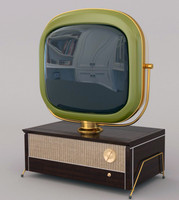 3d retro tv philco predicta model