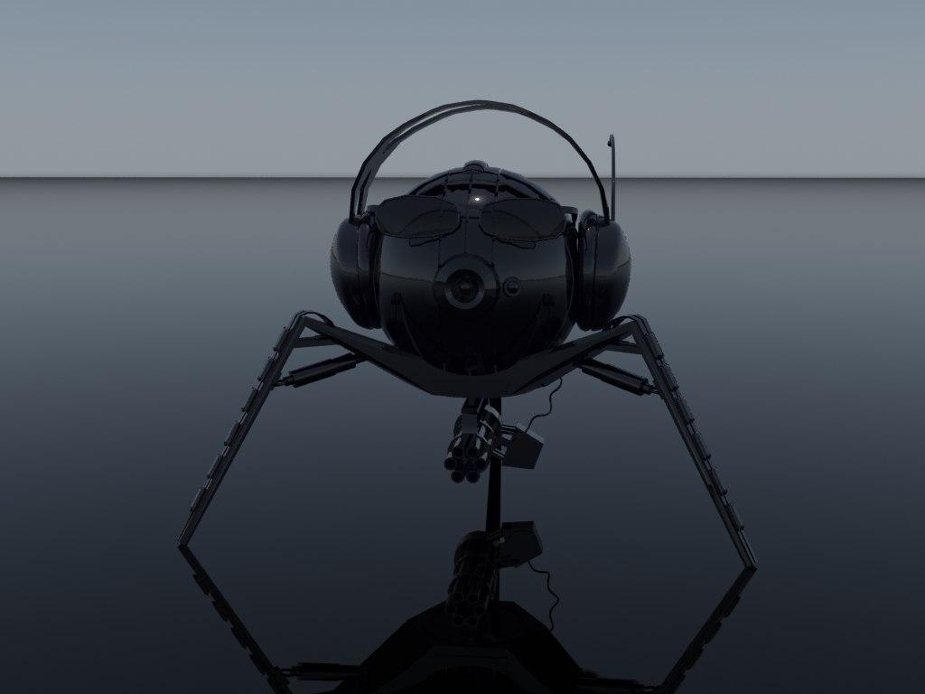 3d robot- camera