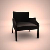 3d max cabas diesis armchair