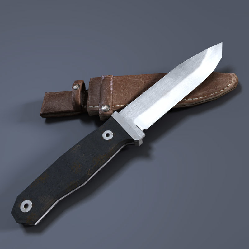 3d knife sheath