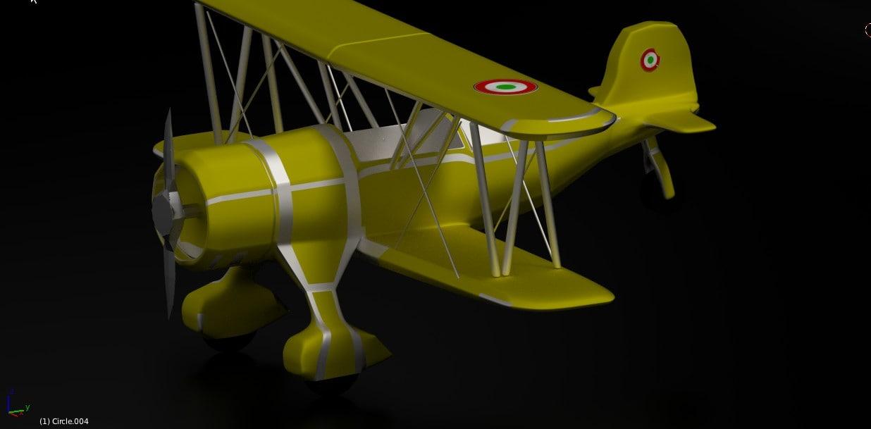 bitplane plane 3d obj