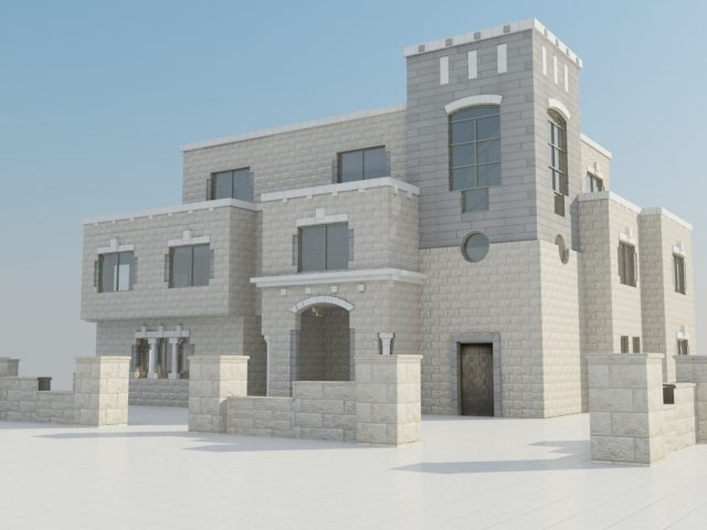 residence house 3d max